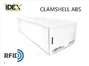 Cartão de Proximidade RFID 125Khz Tipo Clamshell ABS Pct 100 Unidades
