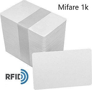 Cartão de Proximidade RFID Mifare 1K 13,56Mhz Pct 100 Unidades (Sem Serial)