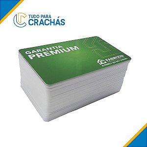 1000 Cartões Pvc Pré Impressos 4x4 Coloridos Frente e Verso