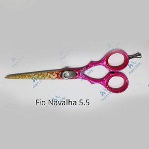 TESOURA PROFISSIONAL Aço Jap 420 Fio Navalha 5.5 - Maryam Trading
