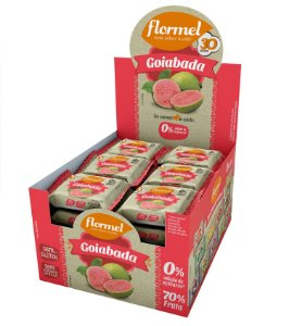 GOIABADA 25G FLORMEL -
