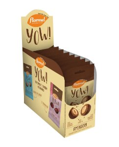YOU DE AMENDOIM FLORMEL - Display contendo 8 unidades - 320g.
