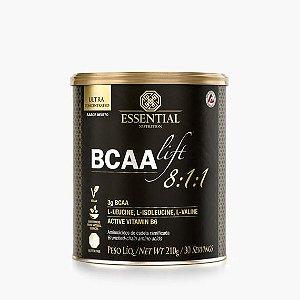 BCAA LIFT 8:1:1 - NEUTRO 210g ESSENTIAL | 30 porções Aminoácidos essenciais e vitamina B6