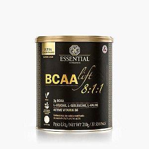 BCAA LIFT 8:1:1 - LIMÃO 210g ESSENTIAL | 30 porções Aminoácidos essenciais e vitamina B6