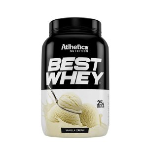 BEST WHEY VANILLA CREAM 900G - ATLHETICA