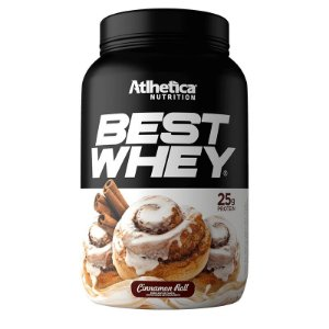 BEST WHEY CINNAMON ROLL 900G - ATLHETICA