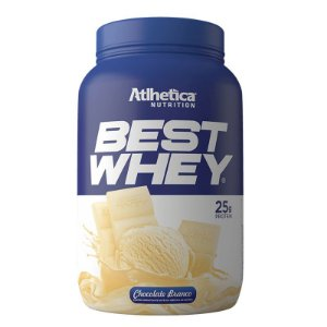 BEST WHEY CHOCOLATE BRANCO 900G - ATLHETICA