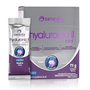 HYALURONIC II JOINT NEUTRO 30 STICKS - SANAVITA