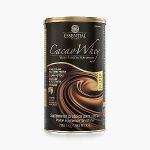 CACAO WHEY 450g | 15 doses Whey Protein Hidrolisado e Isolado com Cacau Gourmet - ESSENTIAL