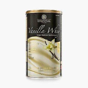 VANILLA WHEY 450g | 15 doses Whey Protein Hidrolisado e Isolado com Cacau Gourmet - ESSENTIAL
