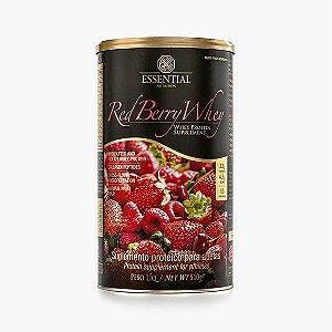 RED BERRY WHEY 510g | 15 doses Whey Protein Hidrolisado e Isolado com frutas vermelhas - ESSENTIAL