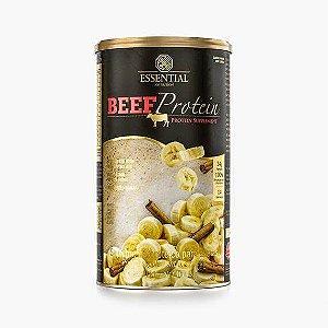 BEEF PROTEIN BANANA COM CANELA 420g | 14 doses Proteína 100% Hidrolisada da Carne Bovina - ESSENTIAL