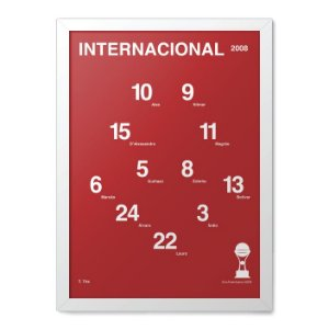 2006 Quadro Escalacao Inter Libertadores Quadro Facil