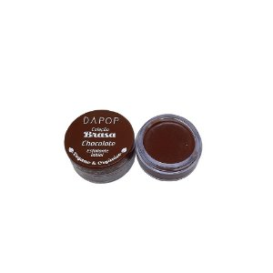 Esfoliante Labial Chocolate Vegano e Orgânico Dapop