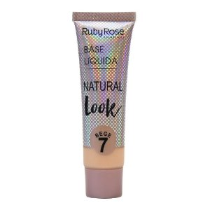 Base Liquida Natural Look Bege 7 Ruby Rose Cód.HB-8051