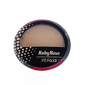 Pó Compacto Facial Cor 21 Ruby Rose Cód.HB7212