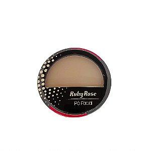 Pó Compacto Facial Ruby Rose Cor 17 Cód.HB7212