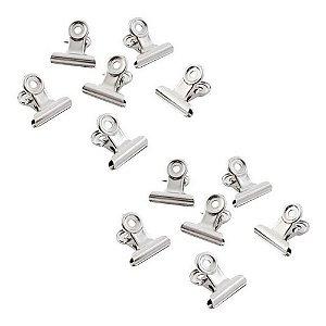 12 Presilhas Curvatura C 2cm Unhas Gel Manicure Hello Mini Cód.TS305