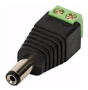 Conector Plug P4 Macho Com Borne Hcl