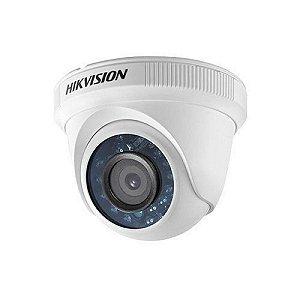 Câmera Dome Hikvision Ds-2ce56c0t-Irpf Lente 2.8mm 720p