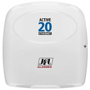Central De Alarme Monitorada Active 20 Ethernet Com Teclado