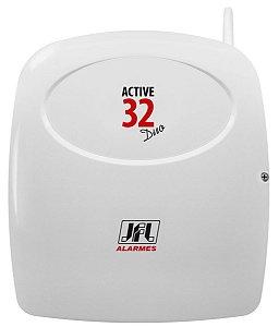 Central De Alarme Monitorável Active 32 Duo Jfl Com Teclado