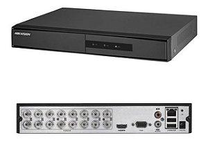 Dvr Hikvision Hd Tvi 16 Canais 1080p Ds-7216hghi F1/n Lite