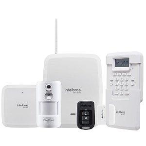 Kit de alarme completo sem Fio AMT 8000 intelbras