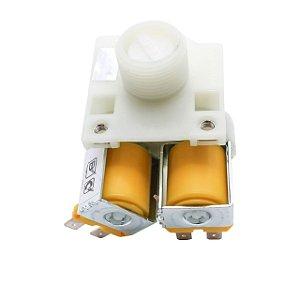 Válvula dupla 110v para Máquina de Lavar Consul Original - W10776336