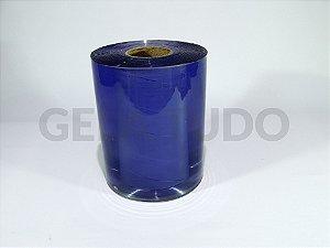 Cortina Plastica Transparente Azulada Camara Fria 2mm