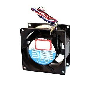 Microventilador 80 X 80 X 38 110/220V ASA-8038-B