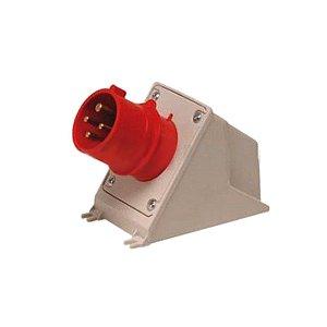 Plug Fix Sob Newkon 3P+T 32A 2 Acoplamento