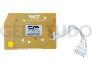 PLACA INTERFACE ELET COMPATIVEL LTC10/LT12F/15F/LTD09/LTD11/LTD13/LTD15 LED AZUL BIV V2 (CP1451)