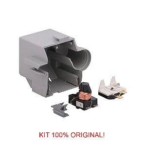 Rele e Protetor Termico Embraco 1/5 EM 65NR 220V/60Hz -com Caixa