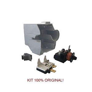 Rele e Protetor Térmico Embraco 1/5+ FFUS 60AK 110V/60Hz -com Caixa