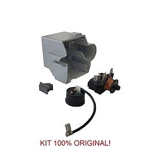 Rele e Protetor Térmico Embraco 1/3+ FFUS 130AX 220V/60Hz - com Caixa