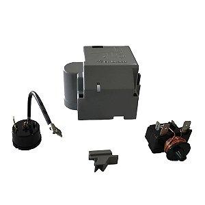 Rele e Protetor Térmico Embraco 1/3+ FFI12HBX 220V/60Hz - com Caixa