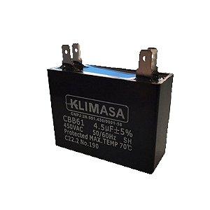 Capacitor 4,5 MDF +-5% 450V Klimasa