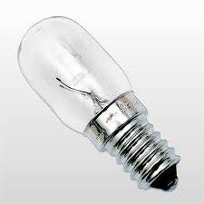 Lampada p geladeira 15W X 220V E 14 132870F