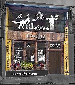 Fachada Restaurante Casinha