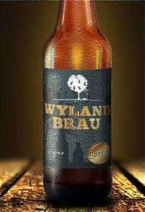 Rótulo cerveja Wylan Brau