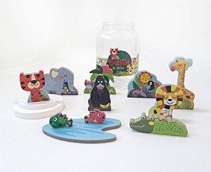 Brinquedo e embalagem Florestinha