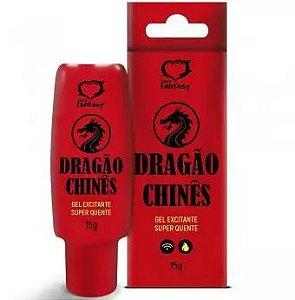 DRAGÃO CHINÊS GEL EXCITANTE HOT 15G