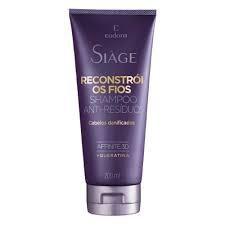 Siàge Reconstrói Os Fios Shampoo Anti Resíduo 200ml