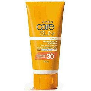 Protetor Solar Facial Avon Care Sun+ FPS 30 50g