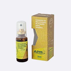 Spray composto de mel, própolis e gengibre 30ml
