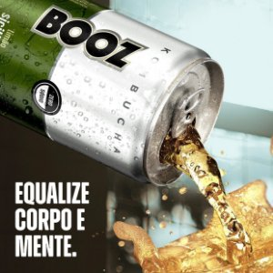 Kombucha Limão Siciliano + Maracujá E Hortelã Booz 269ml