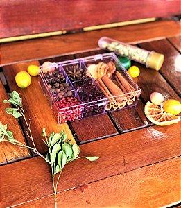 Kit gin especiarias 7 especiarias pequeno