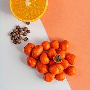 Dragee de damasco com café e laranja 100g
