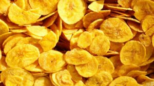 Banana chips com sal 100g